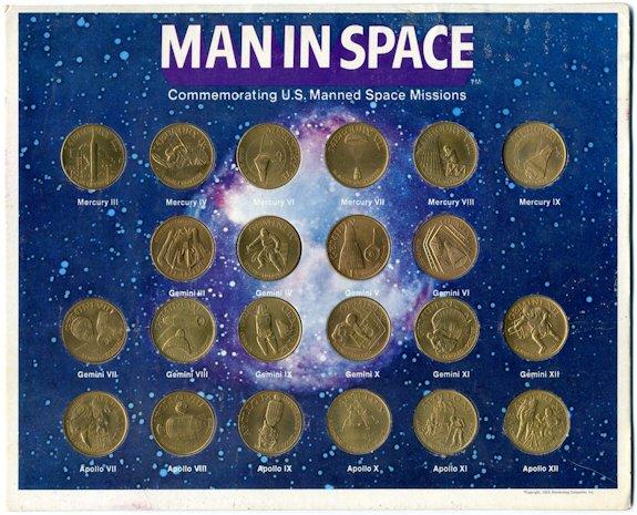 Collectibles Man In Space Shell Gas Contest 1969 Gemini Iv White Mcdivitt Usa Aluminium Crazy Price
